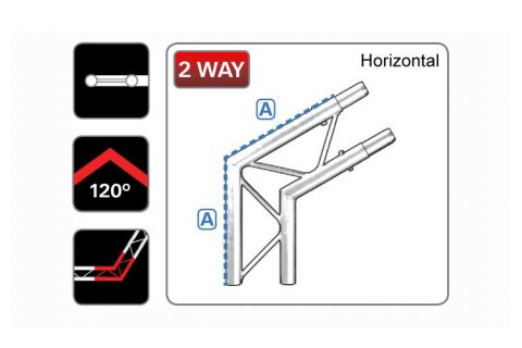 120° LADDER JUNCTION L2/120H