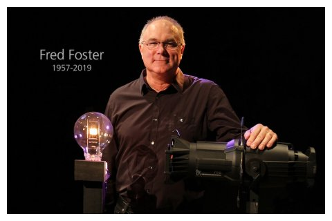 In Andenken an Fred Foster 1957-2019