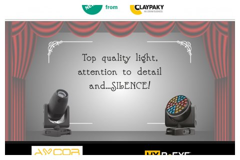 Claypaky new theatre products
